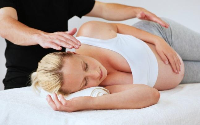 Расслабляющий массаж для беременных 28