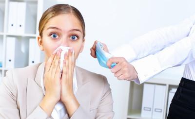 Как не заболеть в офисе? Советы