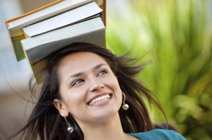 books-on-head